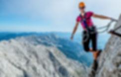 Via Ferrata Massif du Mont-Blanc Haute Savoie (74) location de vacances chalet les Cerises Cordon Megève
