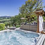 Balcon du Mont Blanc Terrasse jacuzzi Et