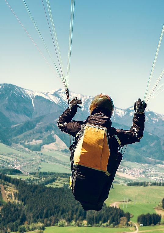 Parapente Massif des Fiz location de vacances chalet les Cerises Cordon Haute-Savoie (74)