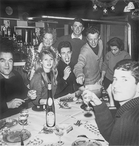 Brigitte Bardot Jacques Charrier Cordon Haute Savoie 1960