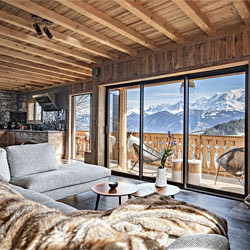 location chalet montagne Baie Vitree Sal