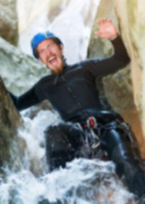 Canyoning, location de vacances chalet les Cerises Cordon Haute-Savoie