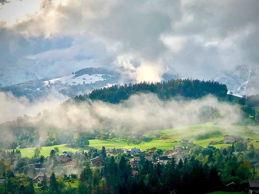 Location montagne, Le balcon du Mont-Blanc, Megeve Web Camera, Chalet de Luxe