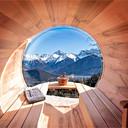 verhuur chalet bergen sauna
