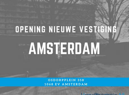 Opening nieuwe vestiging Amsterdam