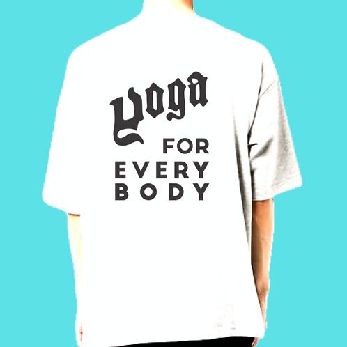 ロゴ黒/Sサイズ)LOGO ビッグシルエットt-shirts