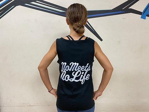 M size】NO MEETS NO LIFE  タンク / BP BLK