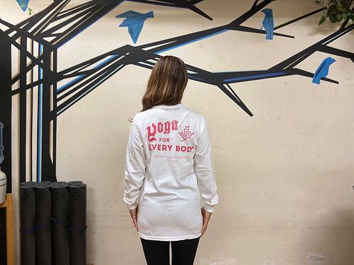 ピンク】YFEBロングTシャツ・S