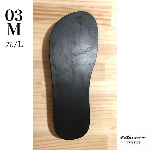 "size M / 03〉satanama sandal ""MOON"""