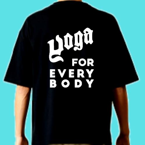 ロゴ白/Sサイズ)LOGO ビッグシルエットt-shirts