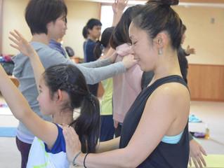 Maiko Kurata 「ヨガを深める講座」in 郡山