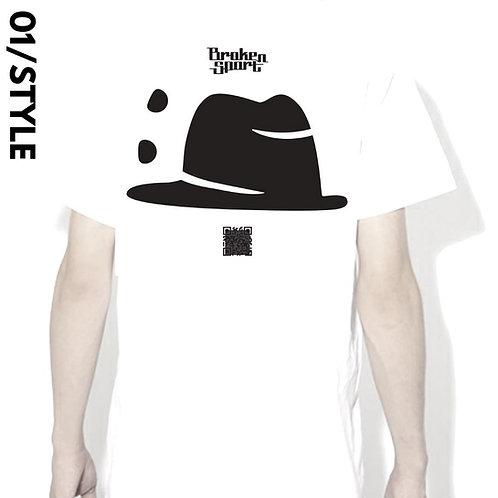"""L size)""""001 Style"""" Movie-T BROKEN SPORTM"""