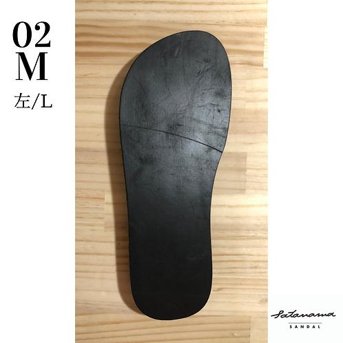 "size M / 02〉satanama sandal ""MOON"""