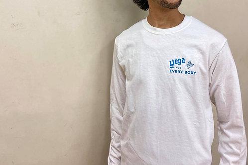 ブルー】YFEBロングTシャツ・S