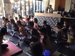 LOVE and GRATITUDE at lululemon Harajuku Showroom