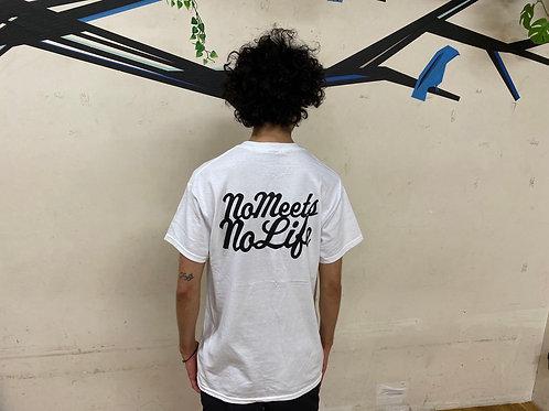 予約受付中 S size】NO MEETS NO LIFE  Tシャツ/ BP WHT