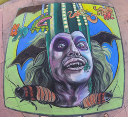 Beetlejuice / Clearwater Chalk Event