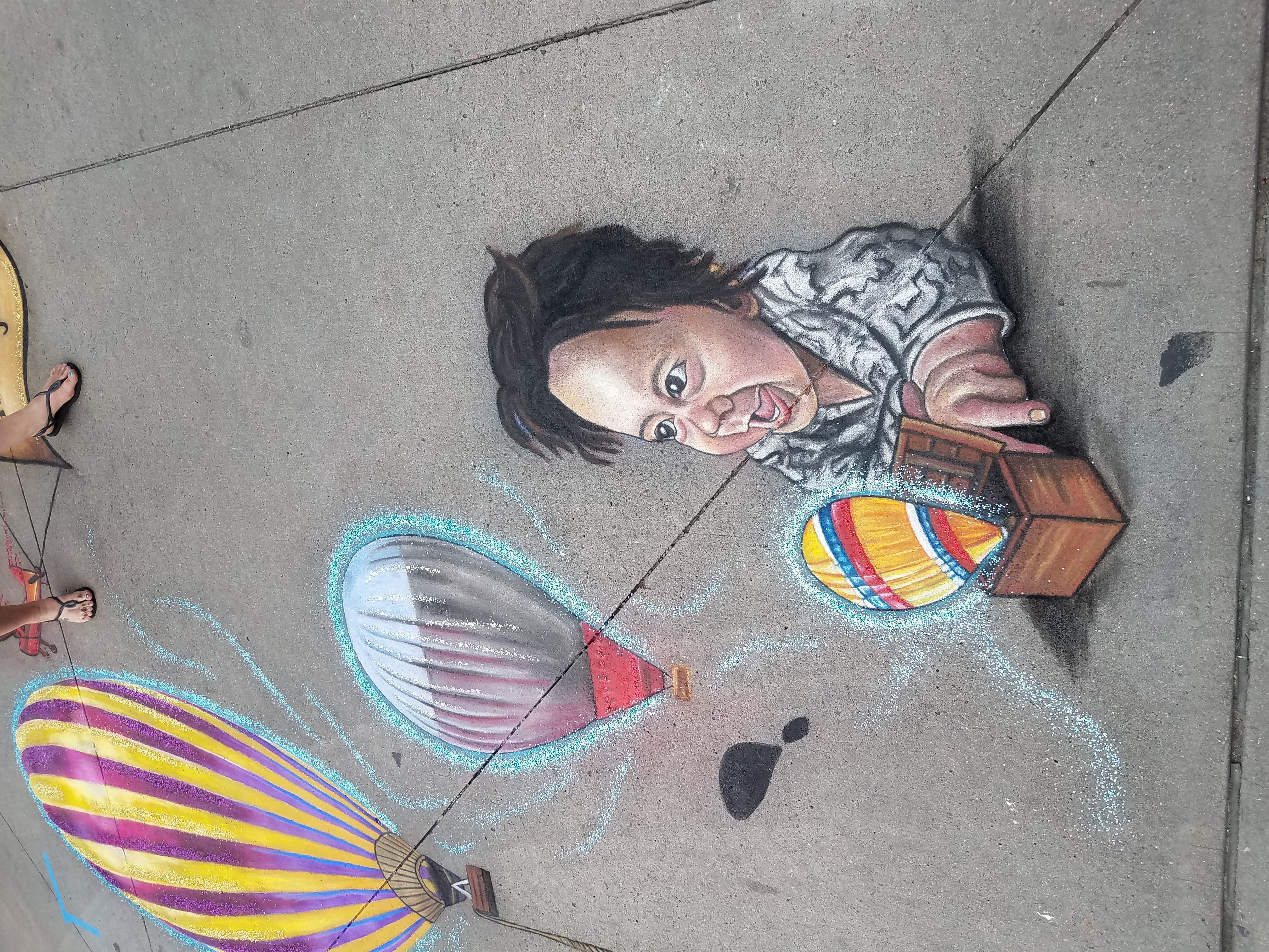 "Denver Chalk Art Festival 2019 ""The Magi"