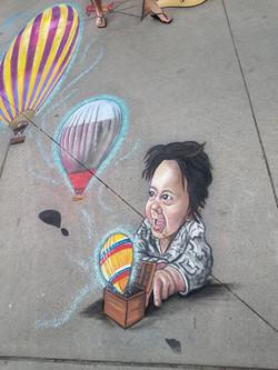 """Denver Chalk Art Festival 2019 """"The Magi"""