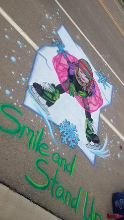 Smile & Stand Up 8.5 ft x 6.5 ft