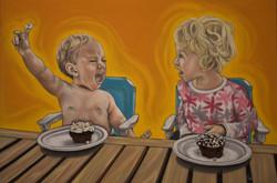 Tarra - Kids and CupCake Portrait