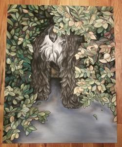 Ducki Dog Portrait