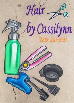 Hair by Cassilynn Chalk Promo