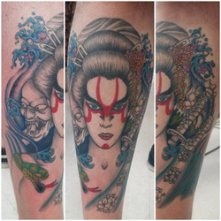 WIP Female Samurai