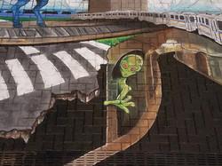 DIA Chalk Mural