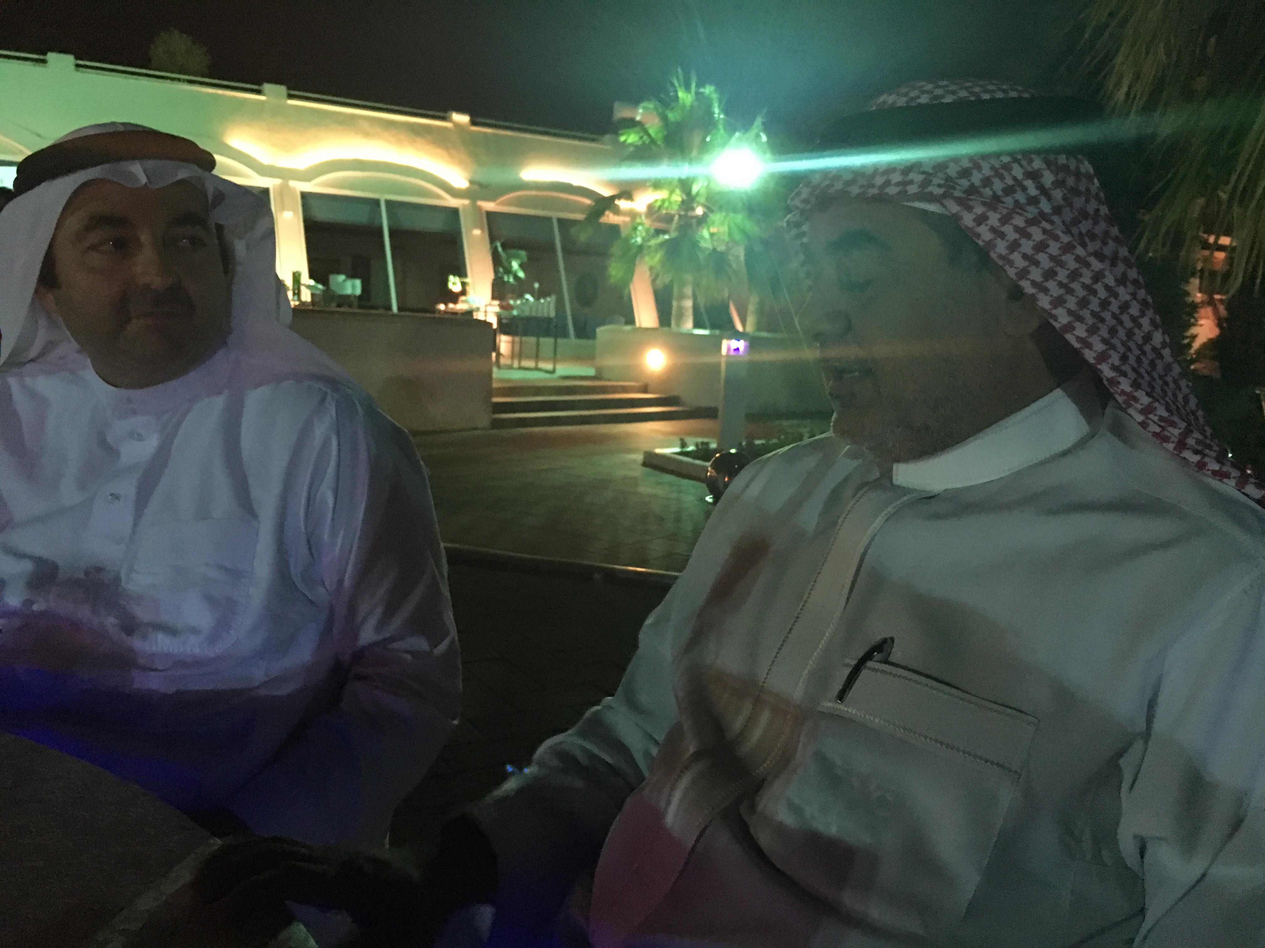 Dr. Ayubi updates of the event