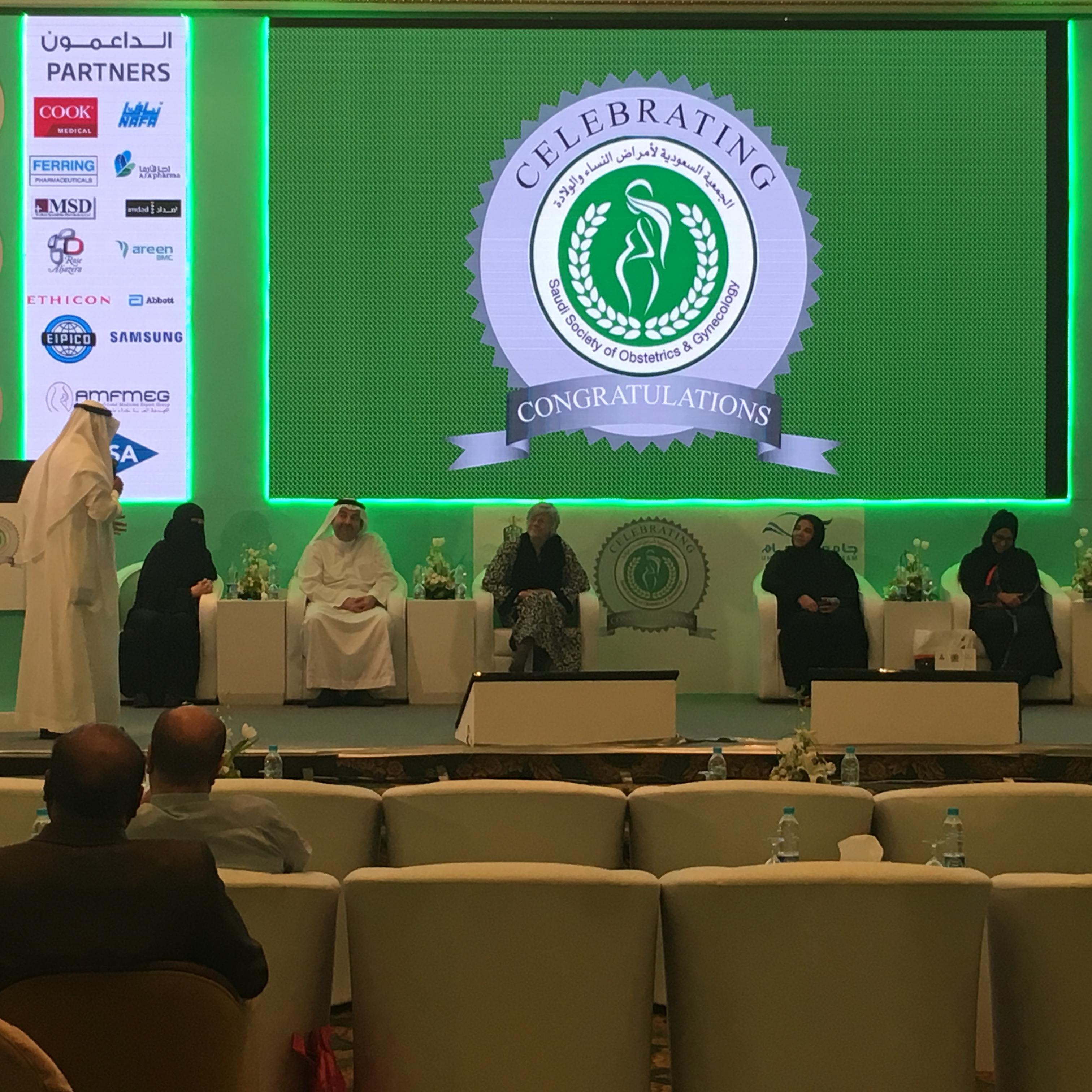 Prof. Abduljabar thanking SMG