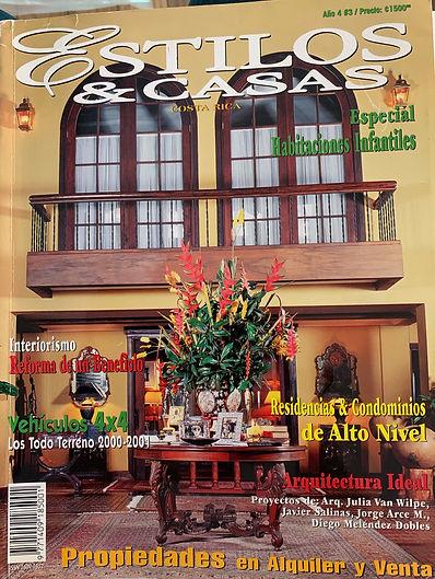 Revista Estilos Y Casas 2000 .jpg
