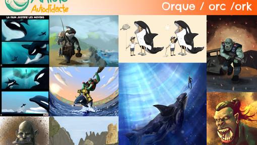 Résultats du défi saison 3 épisode 11 (Orque/orc/ork)