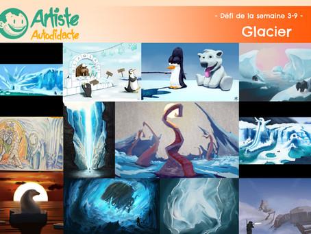 Résultats du défi saison 3 épisode 9 (Glacier)