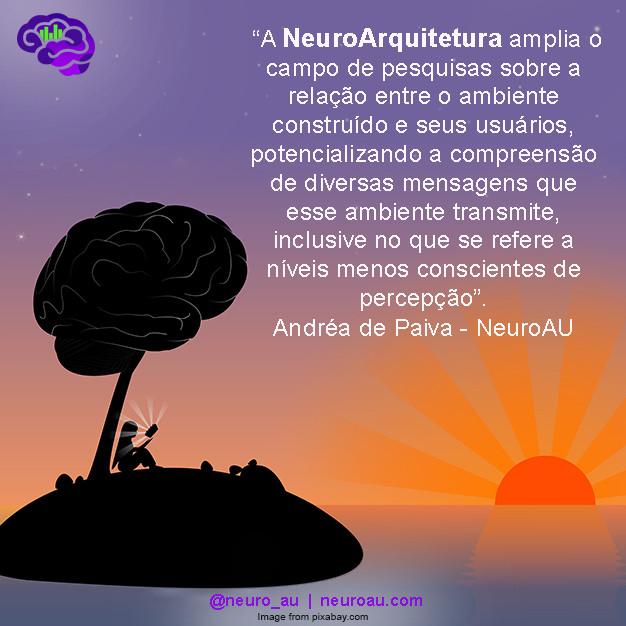 NeuroArquitetura NeuroAU Andréa de Paiva
