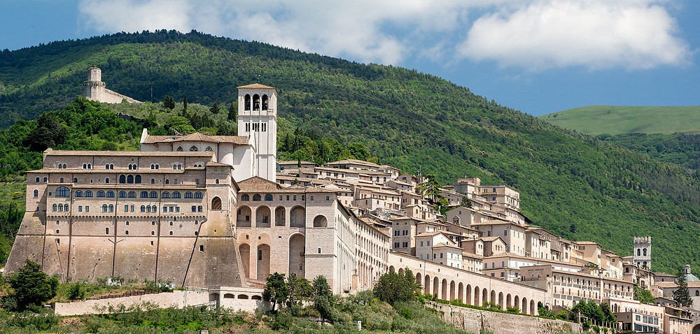 Assisi Abbey, Italy.