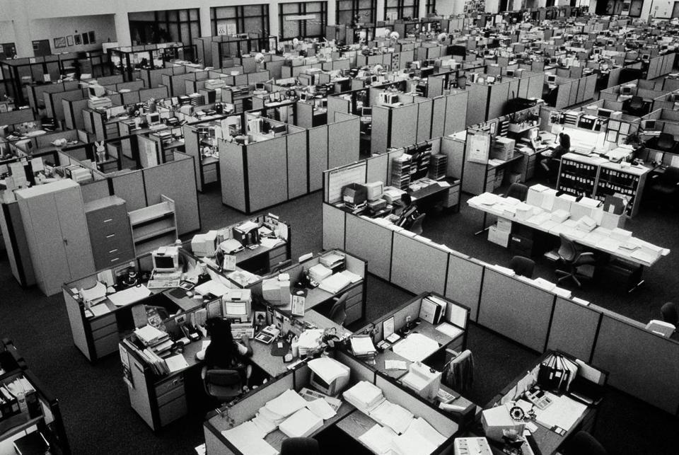 escritório anos 90