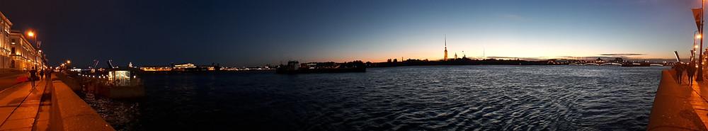 Noites brancas em São Petersburgo. Fonte: NeuroAU