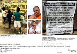 Don't give your vote protect Sri La