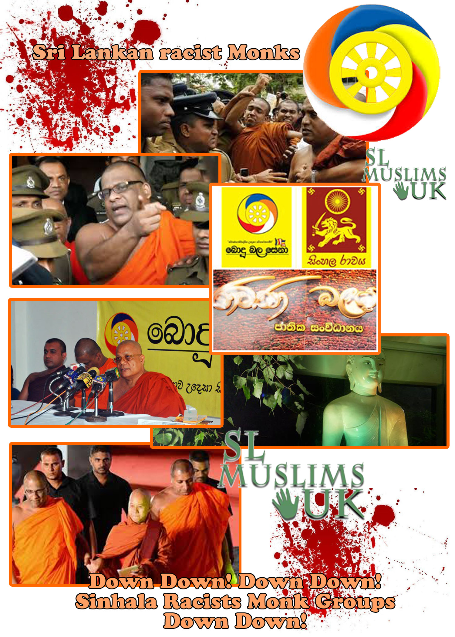 Sri Lankan Racist Monks