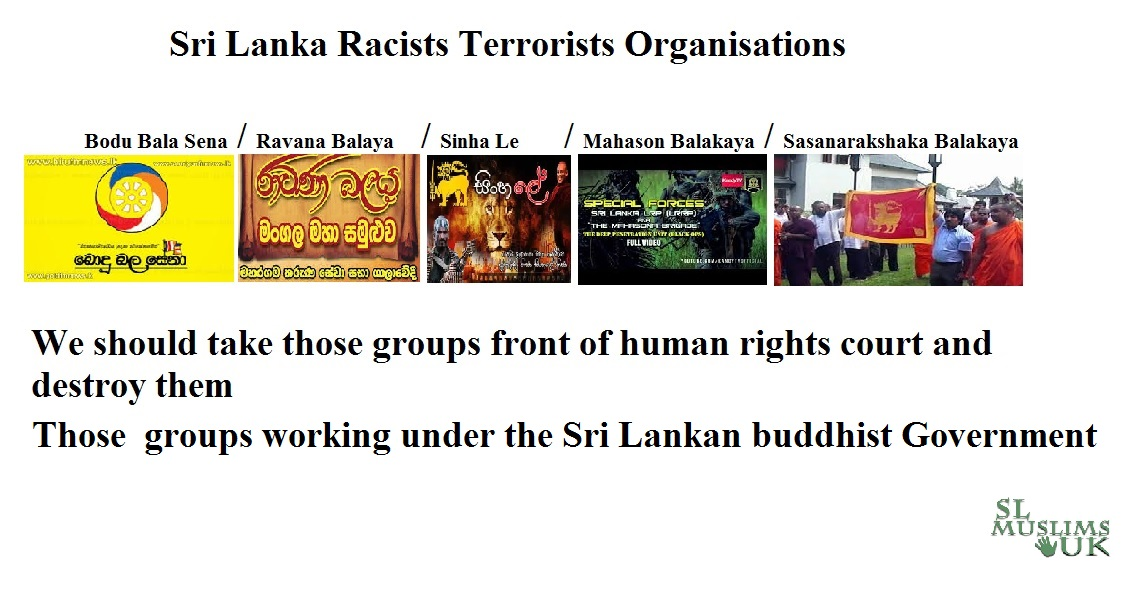 Sri Lankan Terrorists Organisations