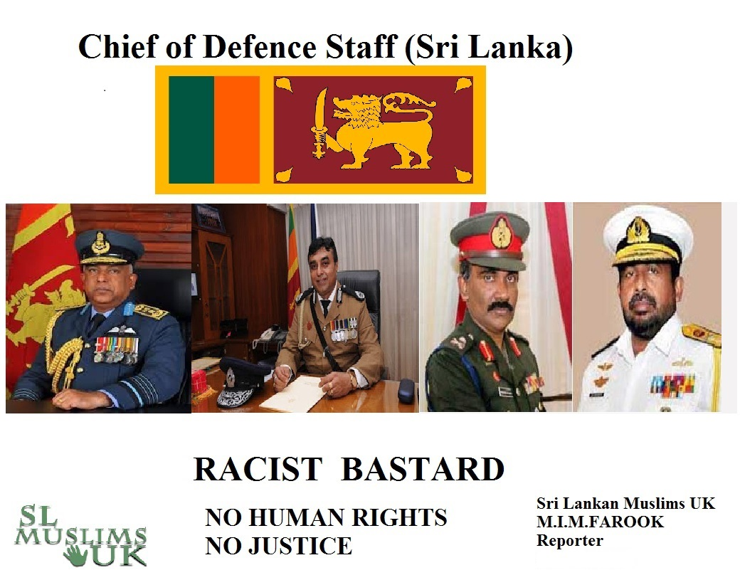Chief of Defence Commanders Racists