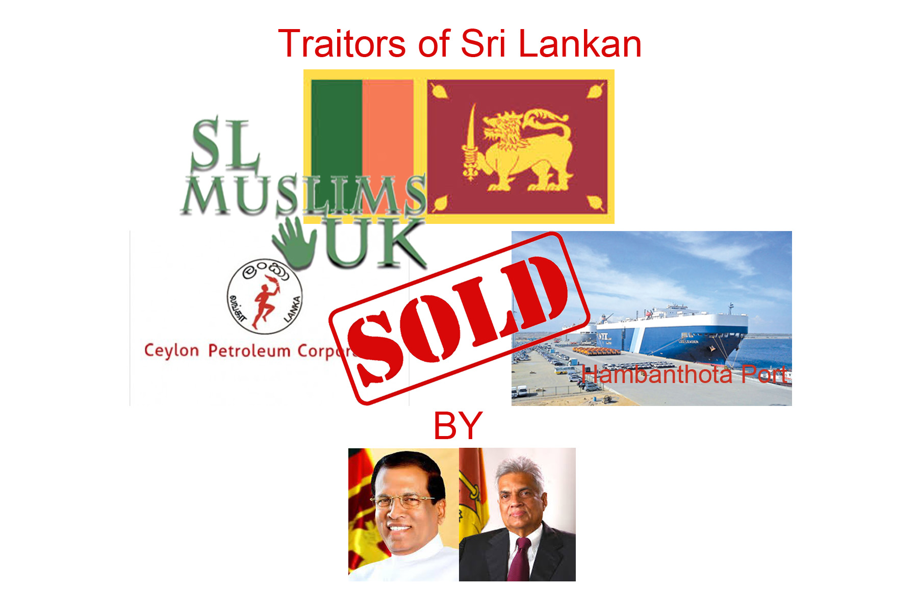 Traitors of Sri Lankan