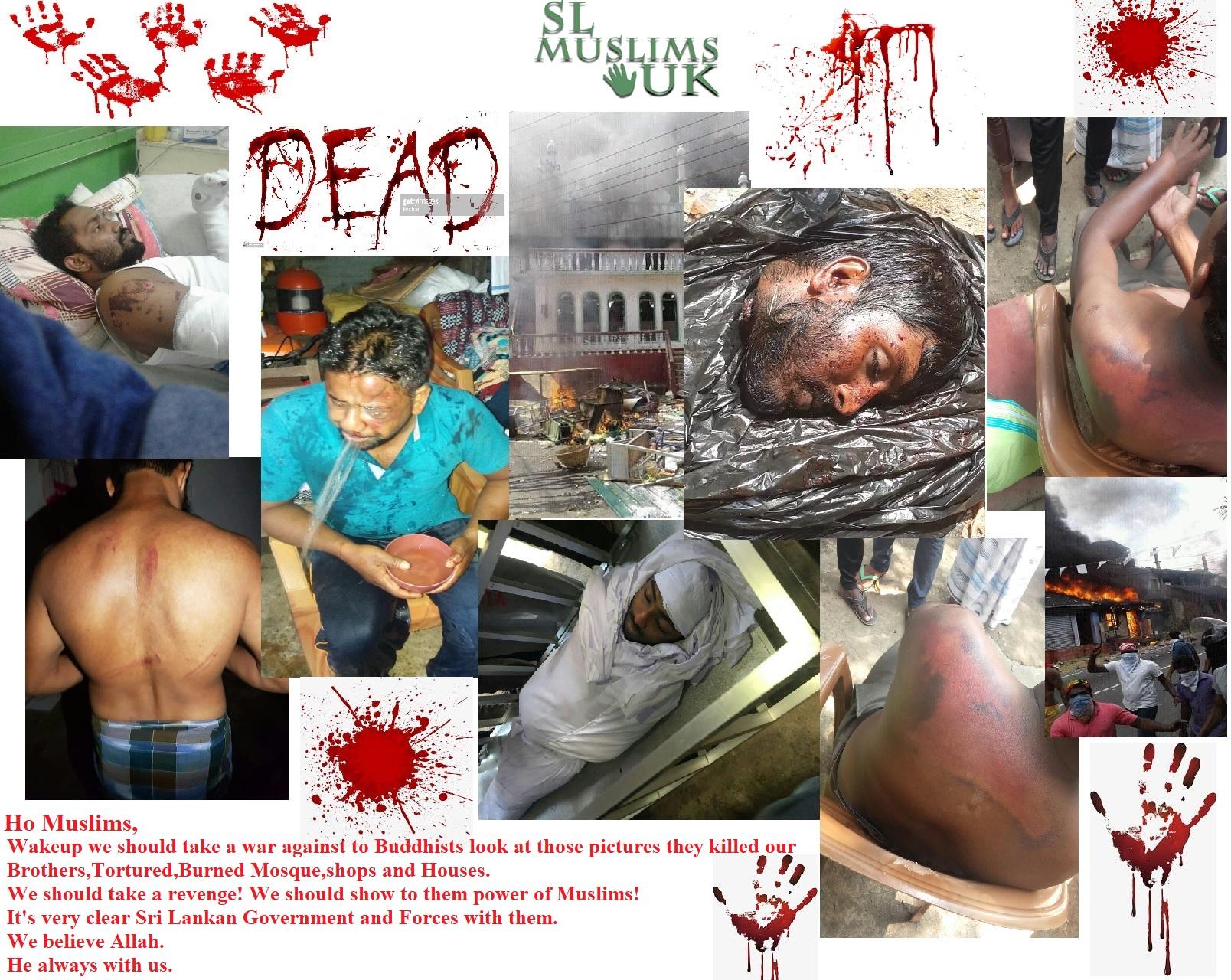 War against to Sri Lankan Buddhists