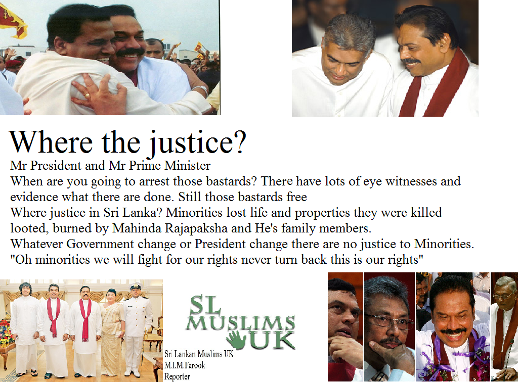 Where the justice in Sri Lanka?