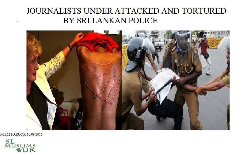 journalists under attacked