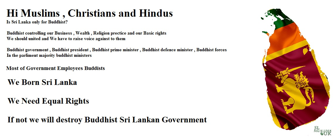 Hi Muslims, Christians, Hindus