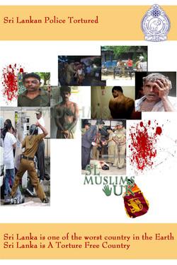 Sri Lankan Police Tortured