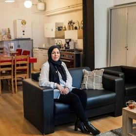 Actieve bewoner en Teamcoördinator NW: Bouchra Moutawakil