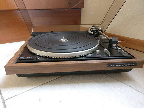 Dual CS 721 in walnut with Shure V15 type III